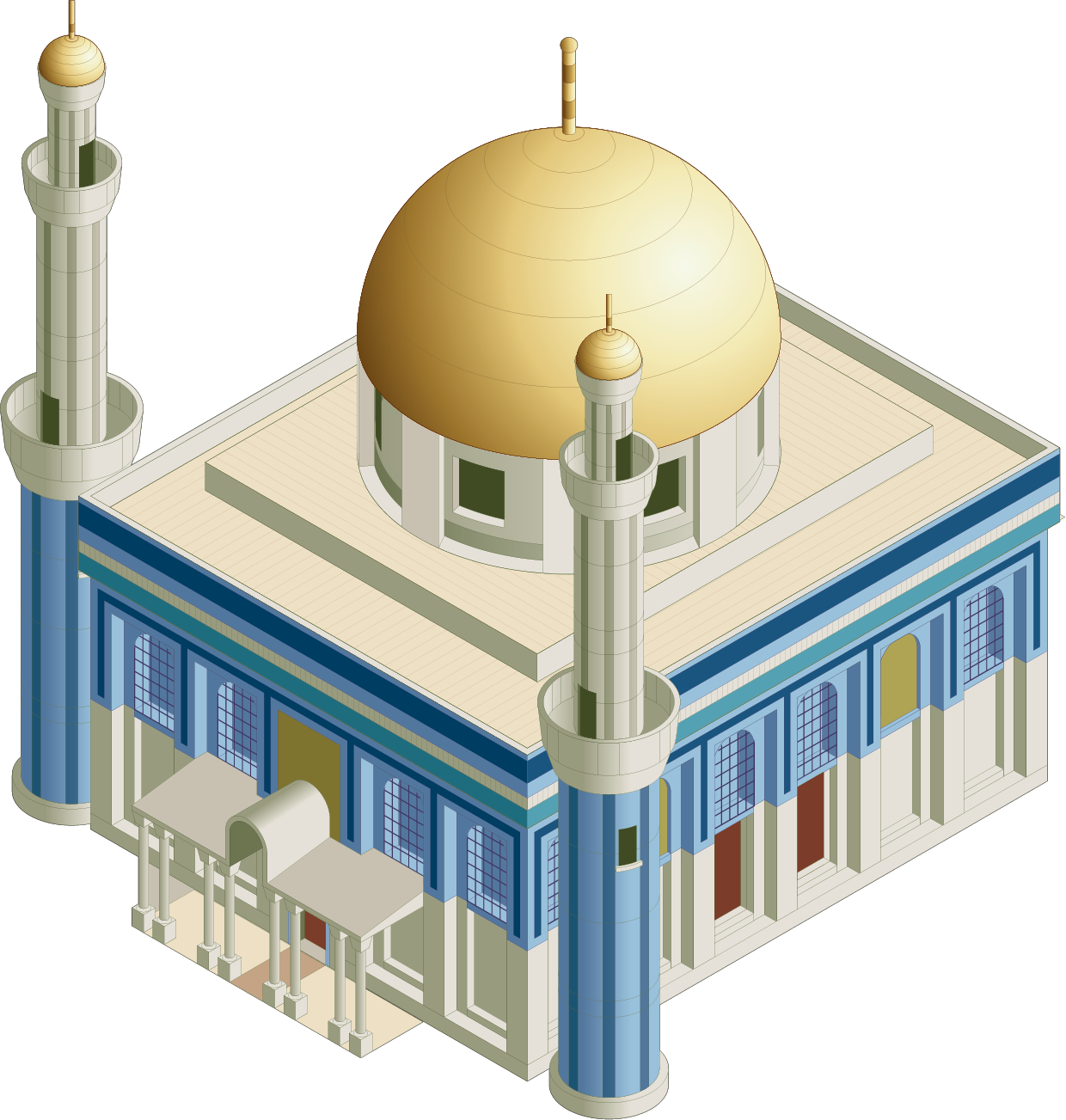 clip black and white library Mosque Clip art