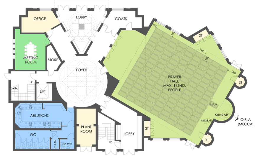 svg library stock Mosque drawing floor plan. Http img friv games