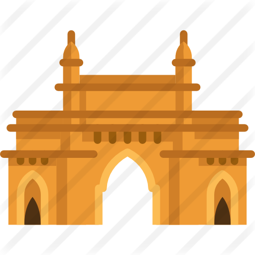 graphic royalty free library Gate of india