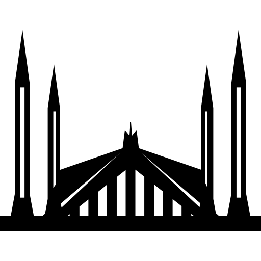 svg free download Shah Faisal Mosque