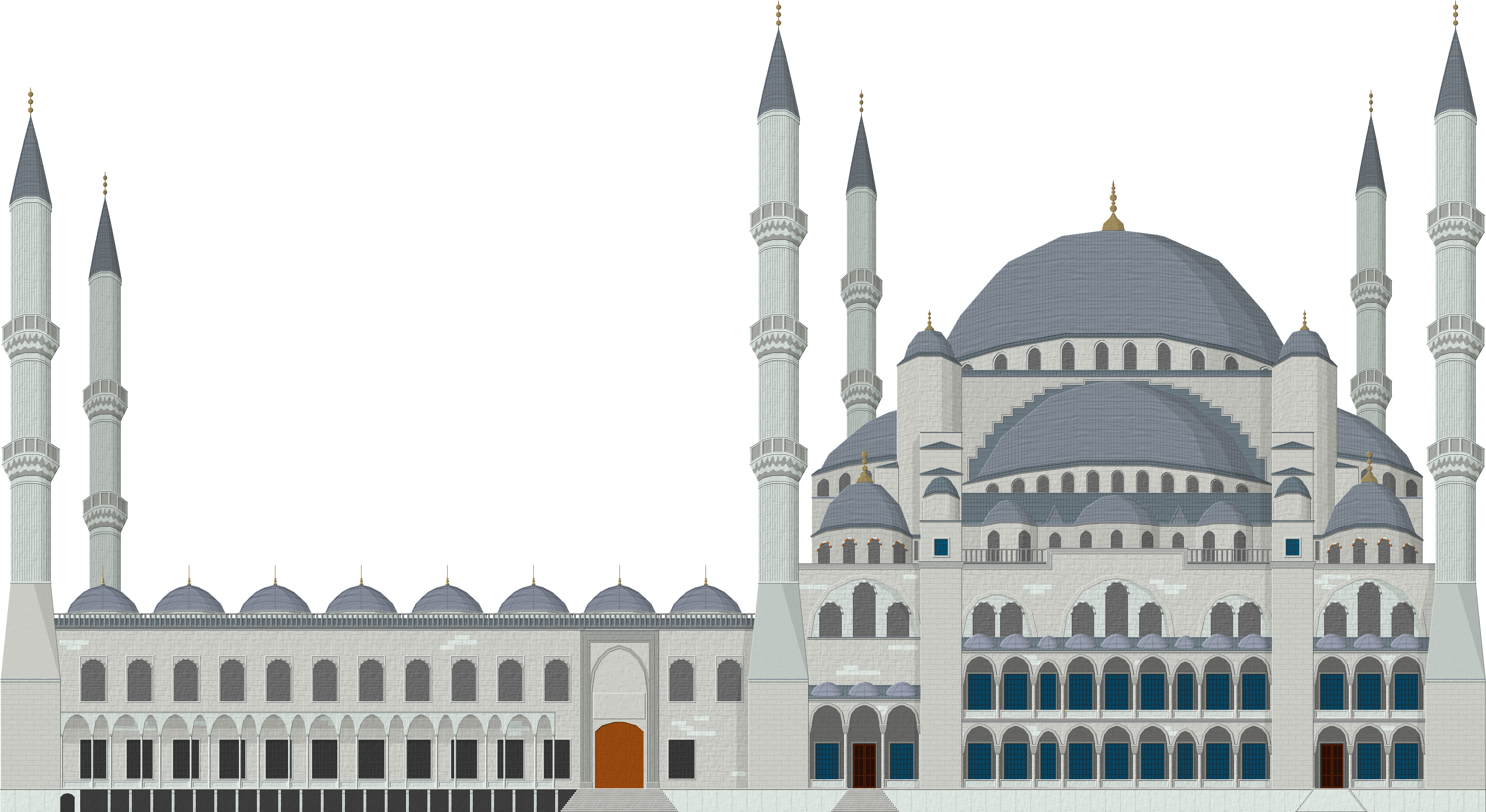 clipart black and white download Blue Mosque by Herbertrocha on DeviantArt