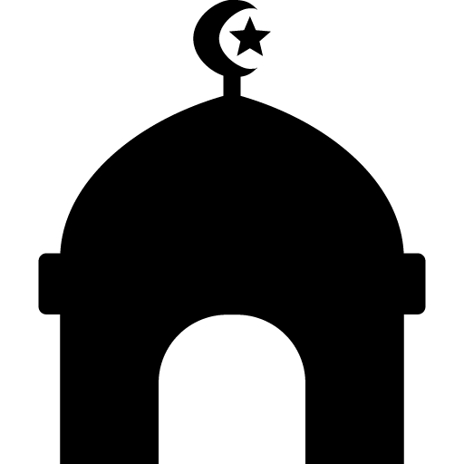picture freeuse stock Tawheed er kalima izinhlelo. Mosque vector black and white