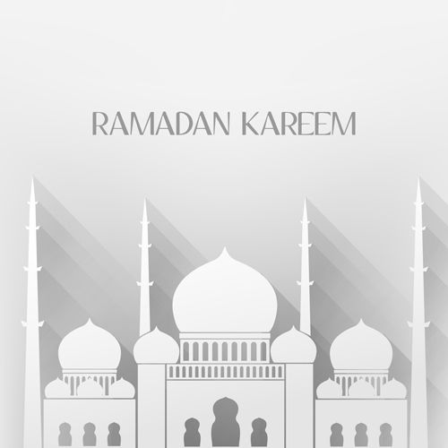 banner transparent stock Creative Islamic mosque vector background material