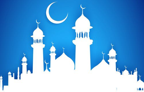 vector library Mubarak islam background design vector Free vector in