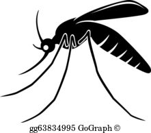 clip art black and white Mosquito clipart. Clip art royalty free.