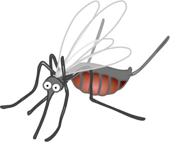 svg black and white download Mosquito clipart. Clip art images panda.