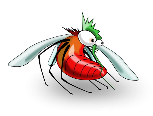image library download Free funny clip art. Mosquito clipart.