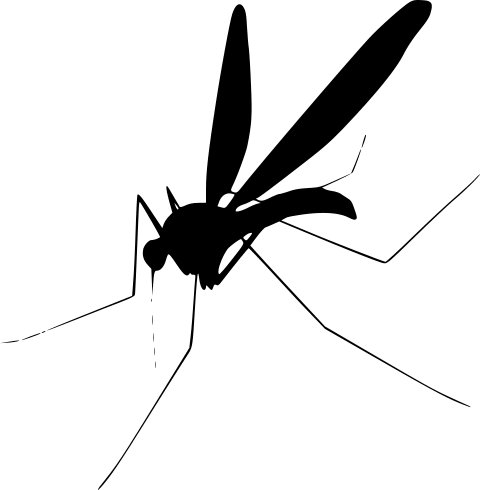 clip art free library Png free images toppng. Mosquito clipart black and white
