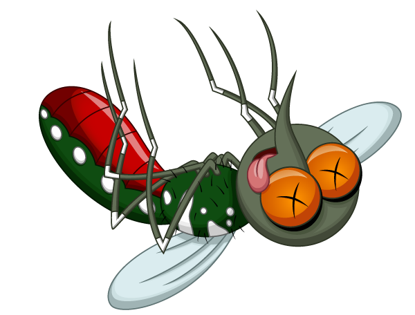 clipart library stock Operation skeeter stop extension. Mosquito clipart dead mosquito.