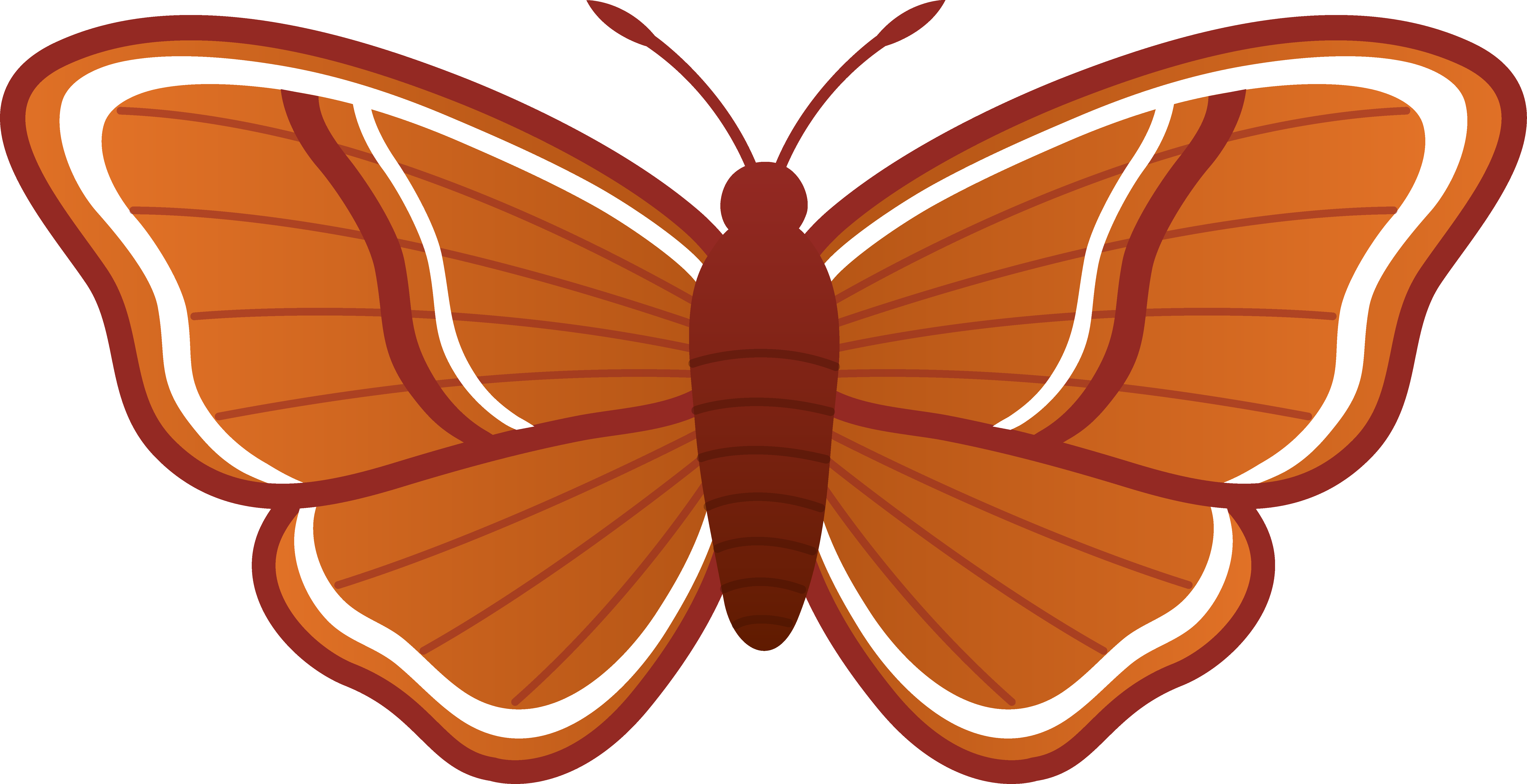 svg royalty free library Moth clipart realistic. Panda free images mothclipart.