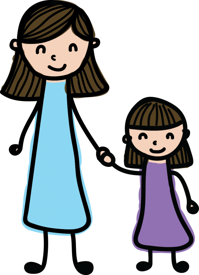 image royalty free download Mother clipart beautiful mother. Daughter backgrounds x by.