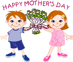 jpg freeuse library Mother clipart beautiful mother. Mothers day printable clip.