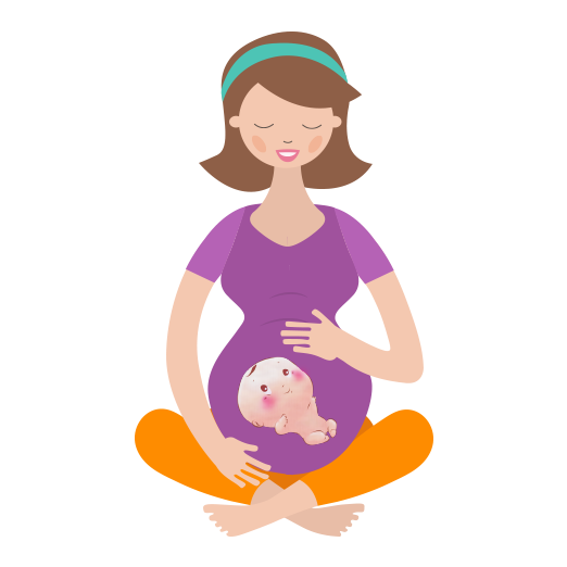 svg stock Anmum materna philippines get. Mother clipart born baby.