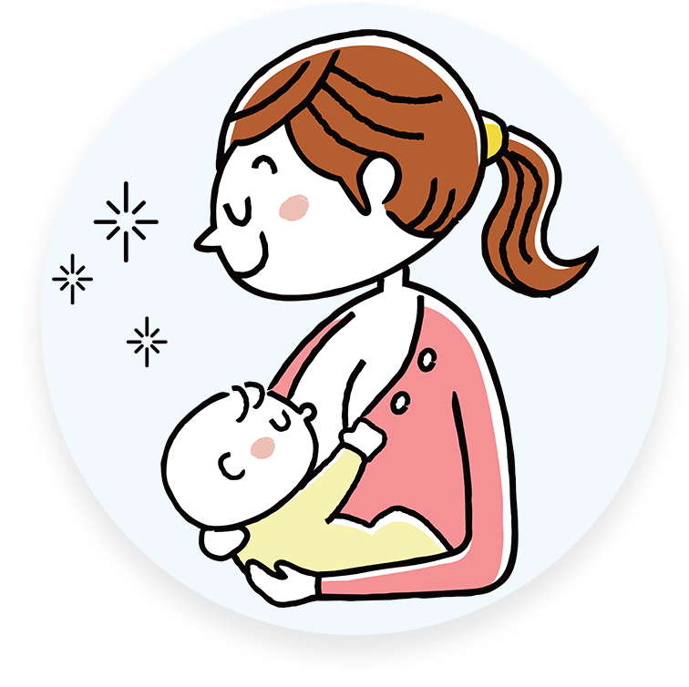 png black and white stock And newborn care labour. Mother clipart born baby.