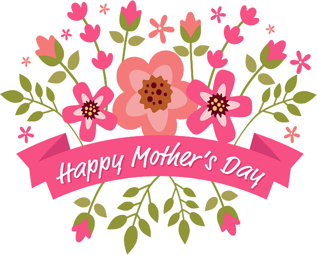 banner free stock Happy Mothers Day Png Transparent