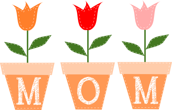 image royalty free download Mothers clipart. Plant day .