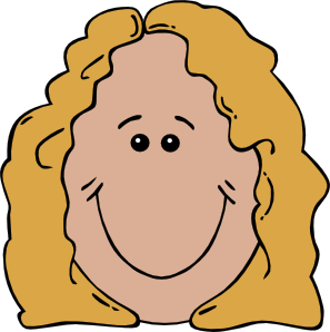 banner royalty free library Mothers clipart face. Lady clip art at.
