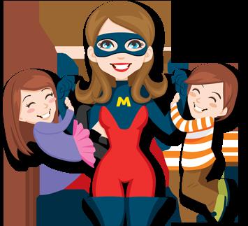 clip art free download Best mom clipartion com. Mothers clipart superhero.