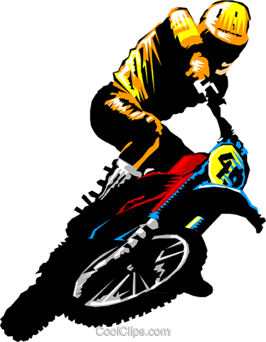 jpg transparent library Motocross Clipart at GetDrawings