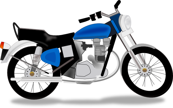 svg library stock Honda . Motorcycle clipart