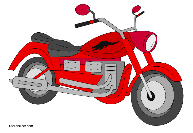 vector transparent Motorcycle clipart. Raster free images clipartix