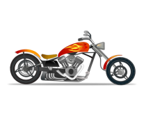 image freeuse stock Harley davidson clip art. Motorcycle clipart border.