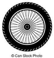 vector free stock Free cliparts download clip. Motorcycle wheel clipart