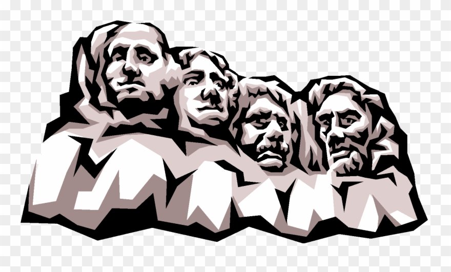 image library stock Presidents day backgrounds . Mount rushmore clipart president.