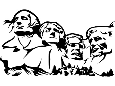 clipart download Mount rushmore clipart printable. Transparent free for .