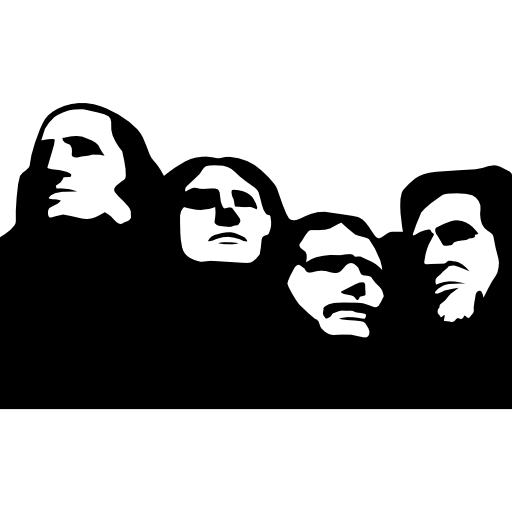 clip art freeuse library The national memorial free. Mount rushmore clipart sculpture.