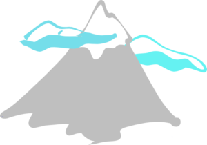 banner royalty free Mountain Peak Logo Clip Art at Clker
