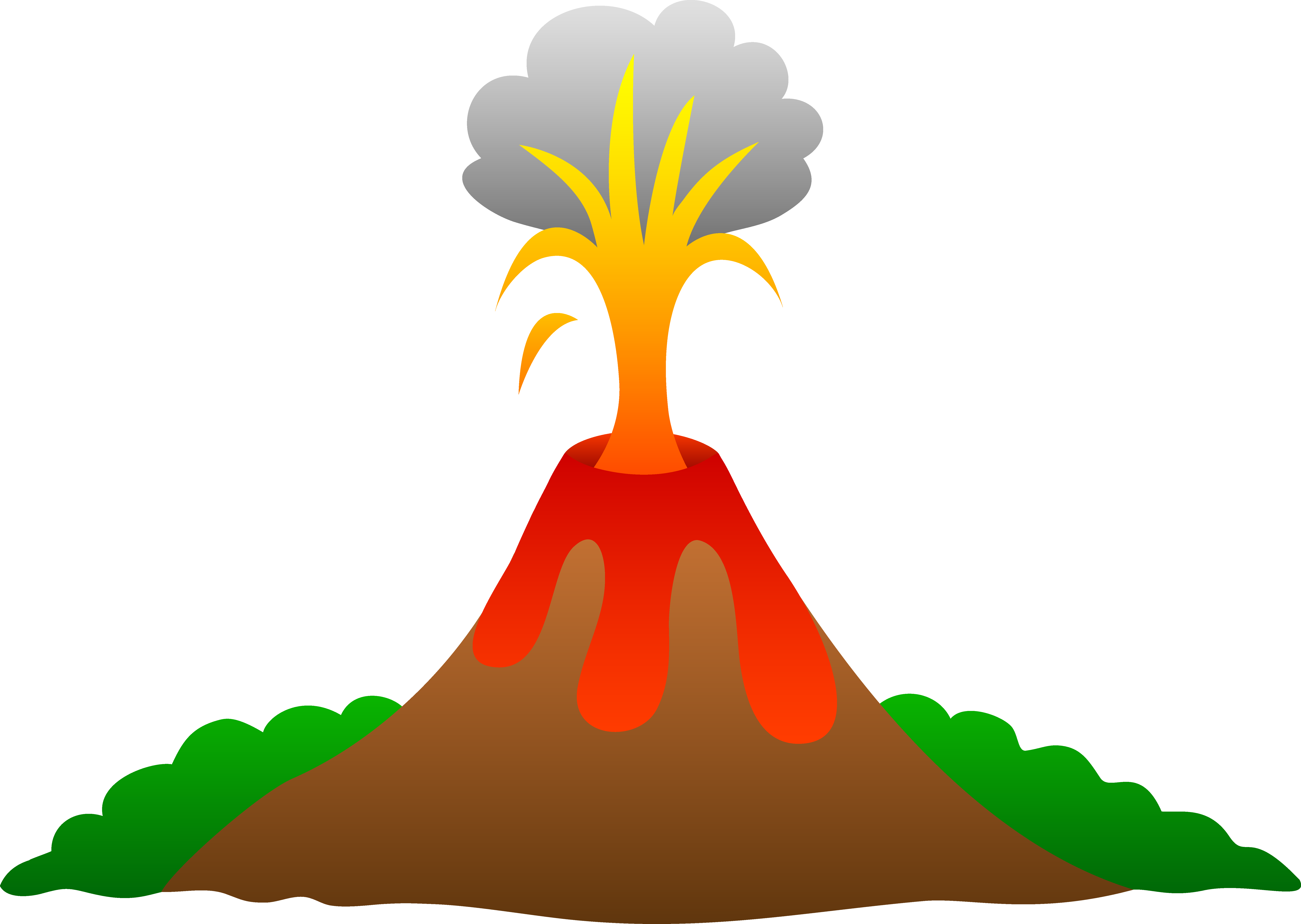 graphic black and white Mountain clipart volcanic mountain. Mt etna volcano project.