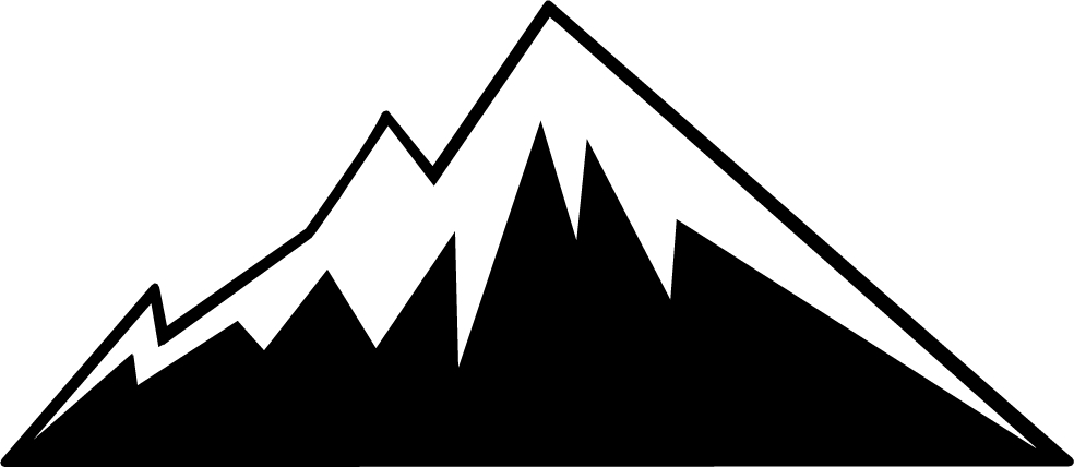 jpg royalty free stock Mountain silhouette clip art. Arcade clipart booth.