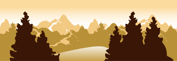 clip art royalty free library Mountain Scenery Clip Art at Clker