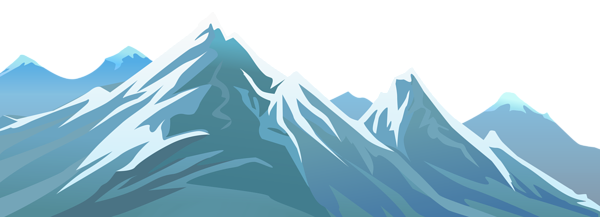 jpg free Snowy Mountain Transparent PNG Clip Art Image