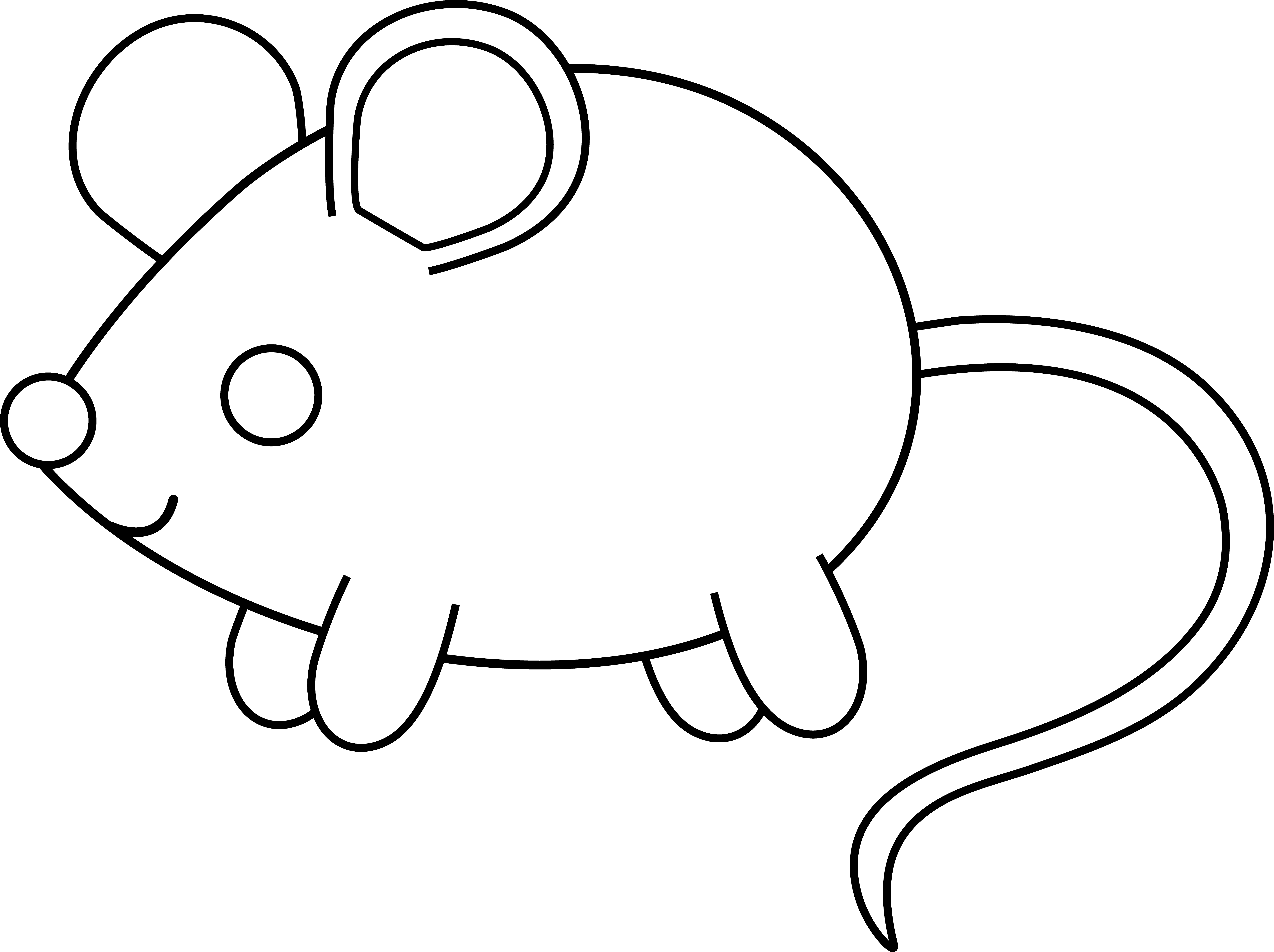 jpg transparent Cute Mouse Drawing
