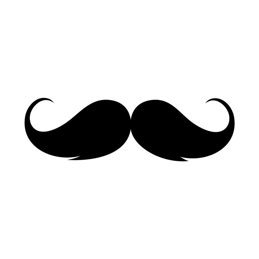 banner library library  clip art clipartlook. Moustache clipart handlebar mustache.