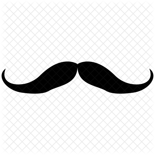 picture free library Moustache clipart handlebar mustache. Free on.