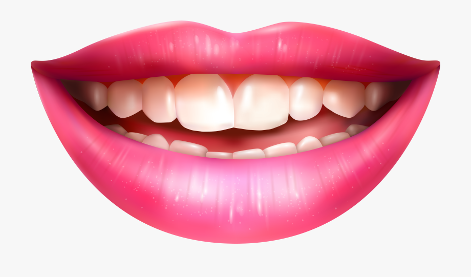banner Mouth clipart. Lips human smiling png