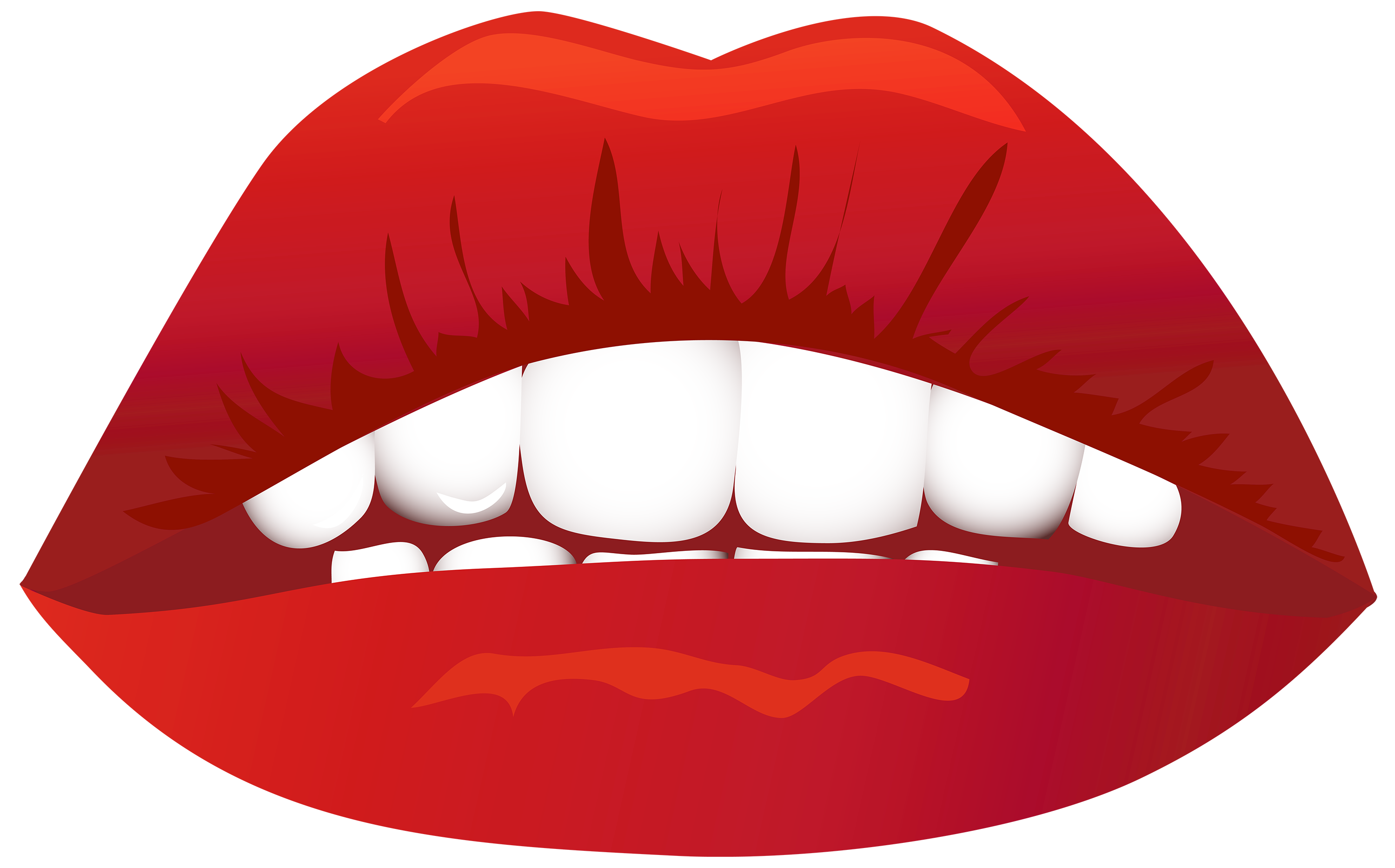 graphic black and white library Mouth Clipart side view