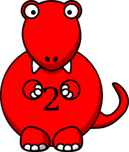 graphic library stock Mouth clipart dinosaur. Red clip art at.