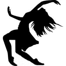 banner black and white stock Clip art library . Movement clipart dance movement.