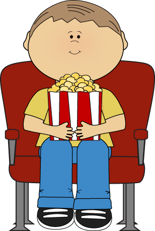 picture library Movie clipart. Clip art images kids