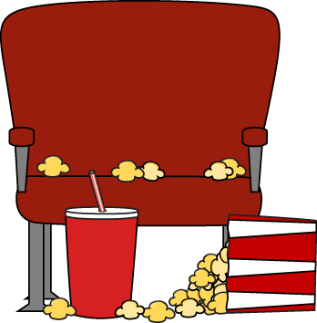 jpg library stock Clipart movies. Movie theatre drinks