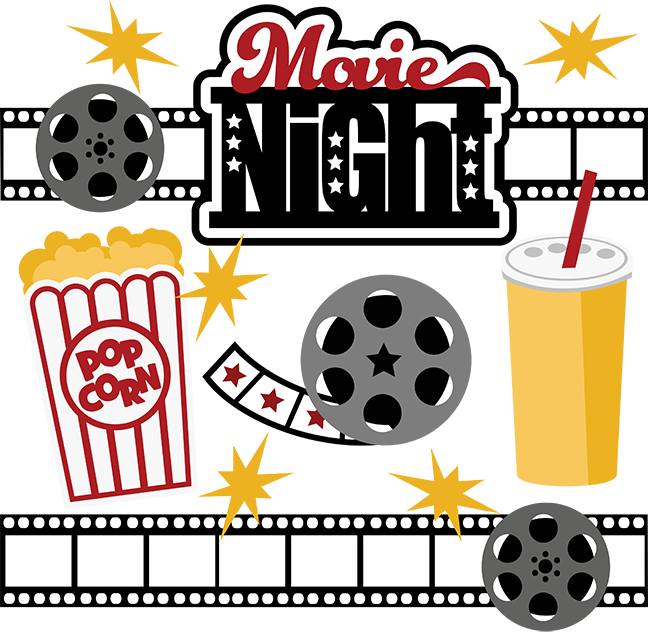 jpg royalty free stock Movie night svg collection. Movies clipart