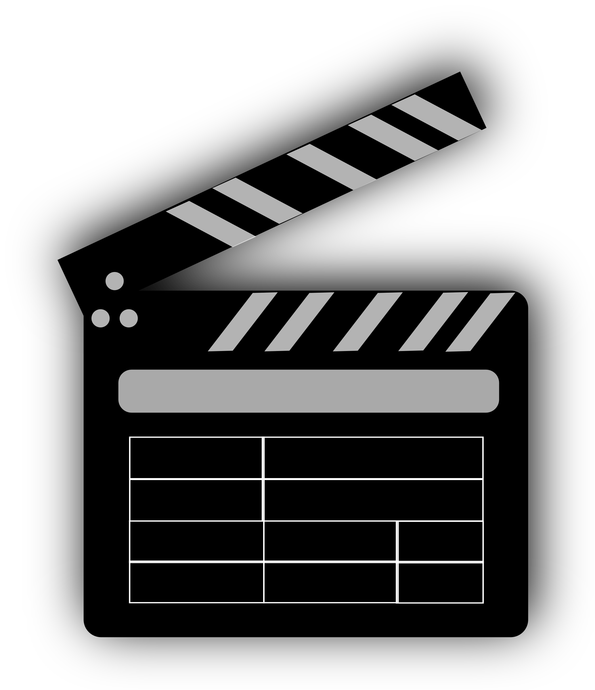 picture transparent library Movie clapper big image. Movies clipart board