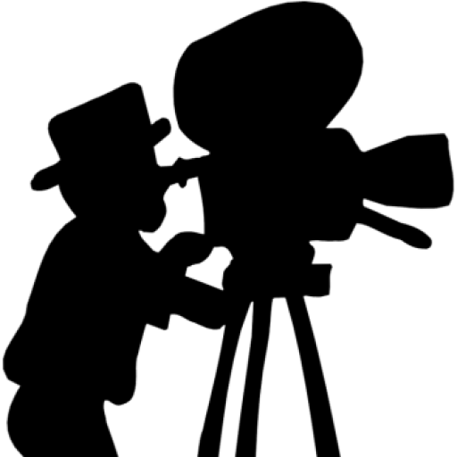 clip stock Movie Camera Silhouette at GetDrawings