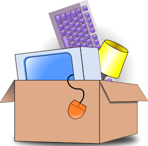 jpg free stock Free moving cliparts download. Boxes clipart animated