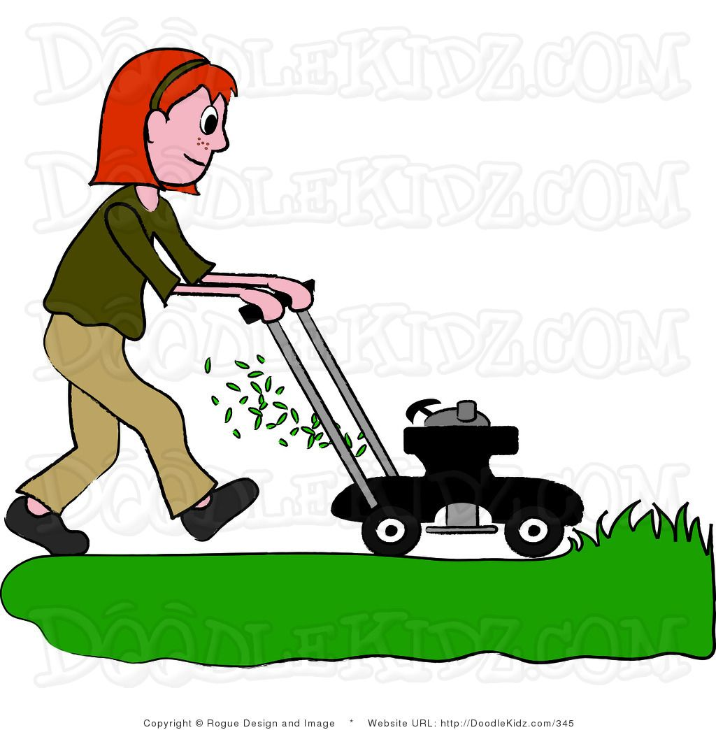 library Mowing google search images. Lawn mower clipart yard work.