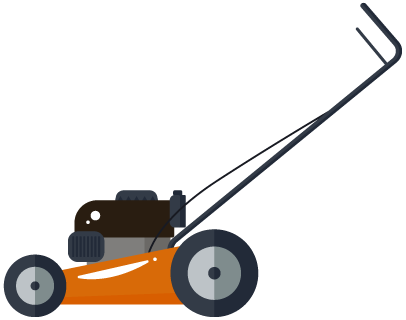clip art black and white stock Mowing clipart edger. How it works professional.